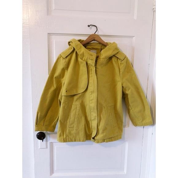 a8c0fecf8c05 GAP Jackets   Blazers - Gap Mustard Yellow Denim Cropped Utility Jacket